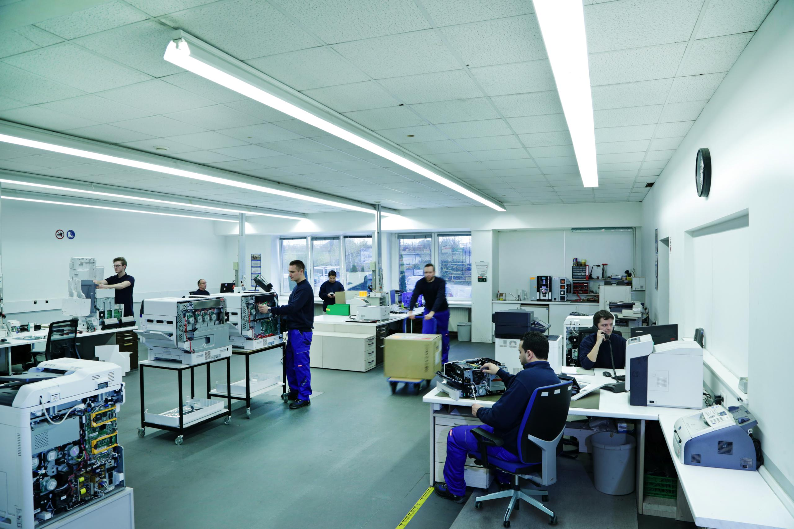 Repair Centre Lpr Gmbh Efficiently Connecting Logistics And Electronic Circuit Board Field Service Center